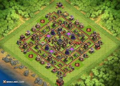Base TH 10 Farming, COC, Clash of Clan