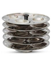 Pepperfry: Buy Shubham idli stand Five plates (20 idlis) :buytoearn