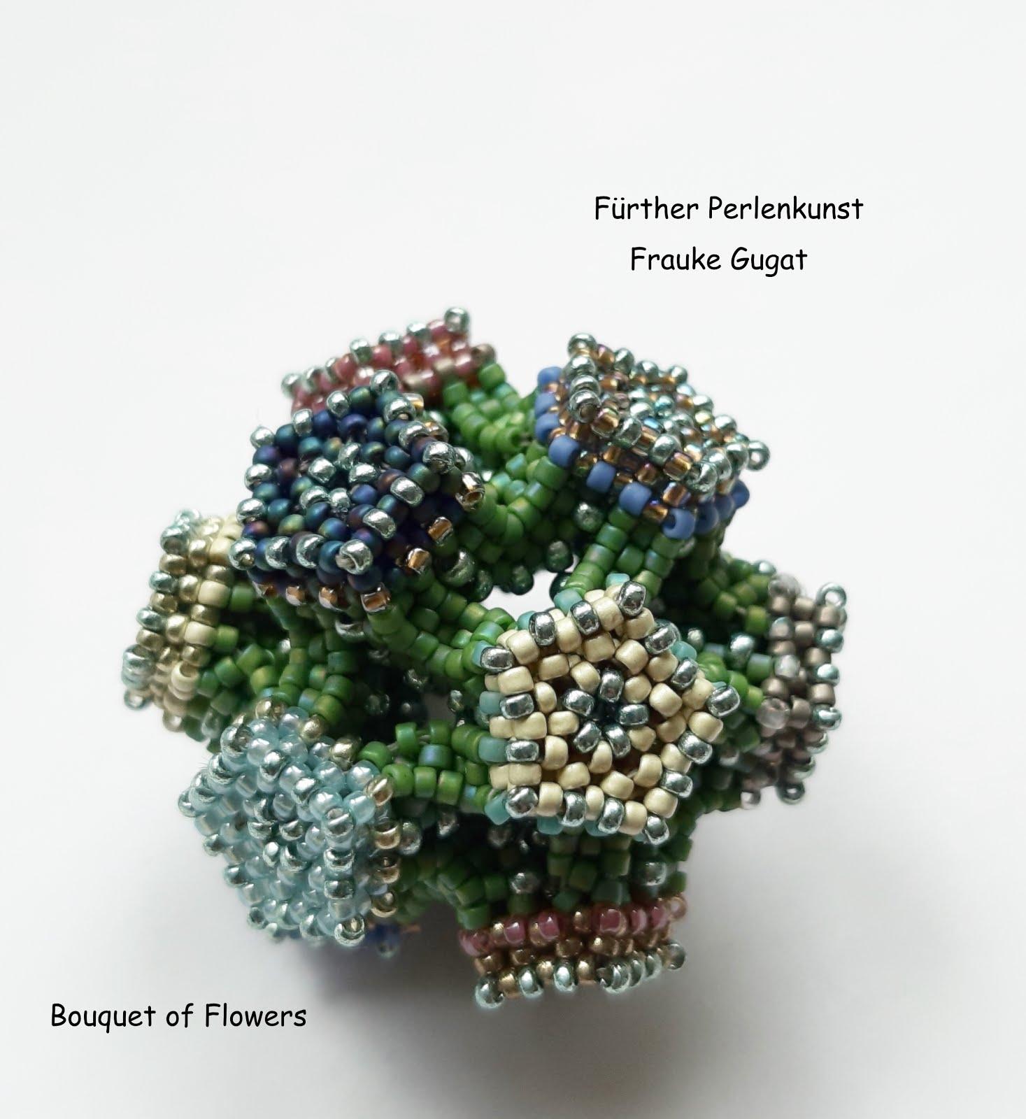 """Kugel/ Anhänger """"Bouquet of Flowers"""""""