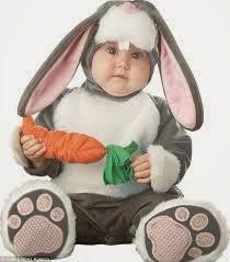 bayi memakai kostum lucu