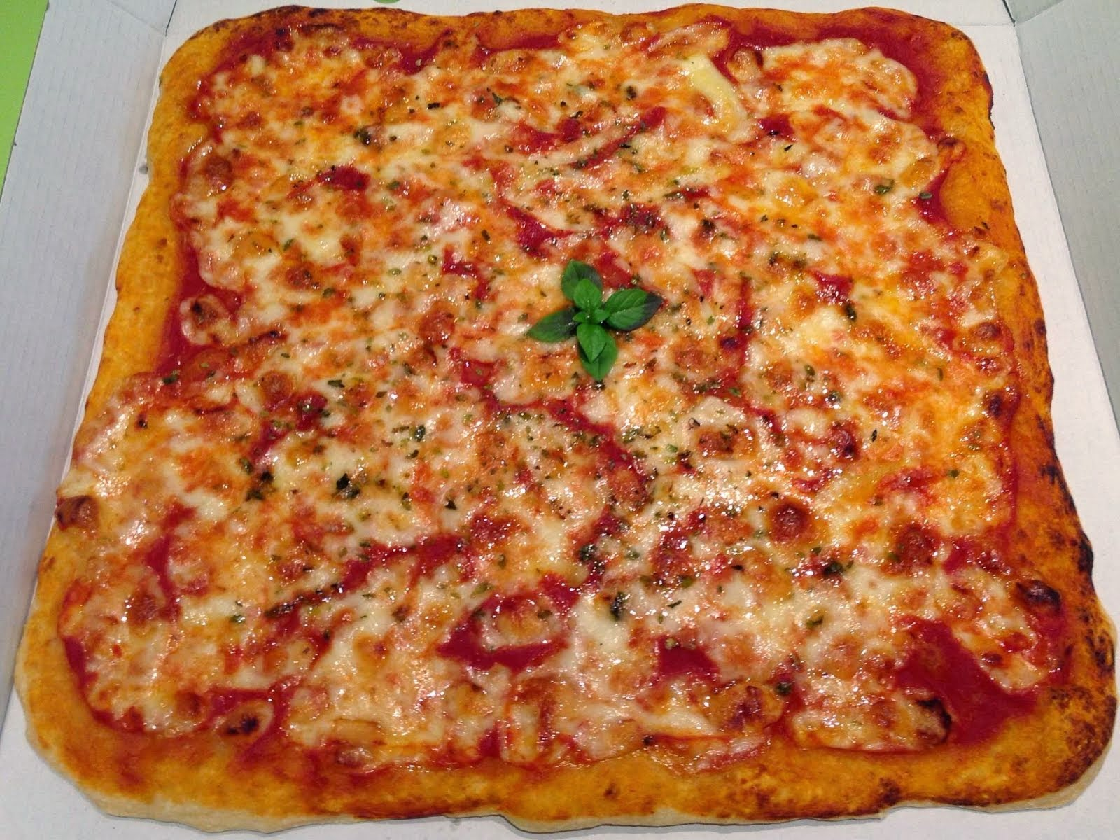 Pizza Cuadrada