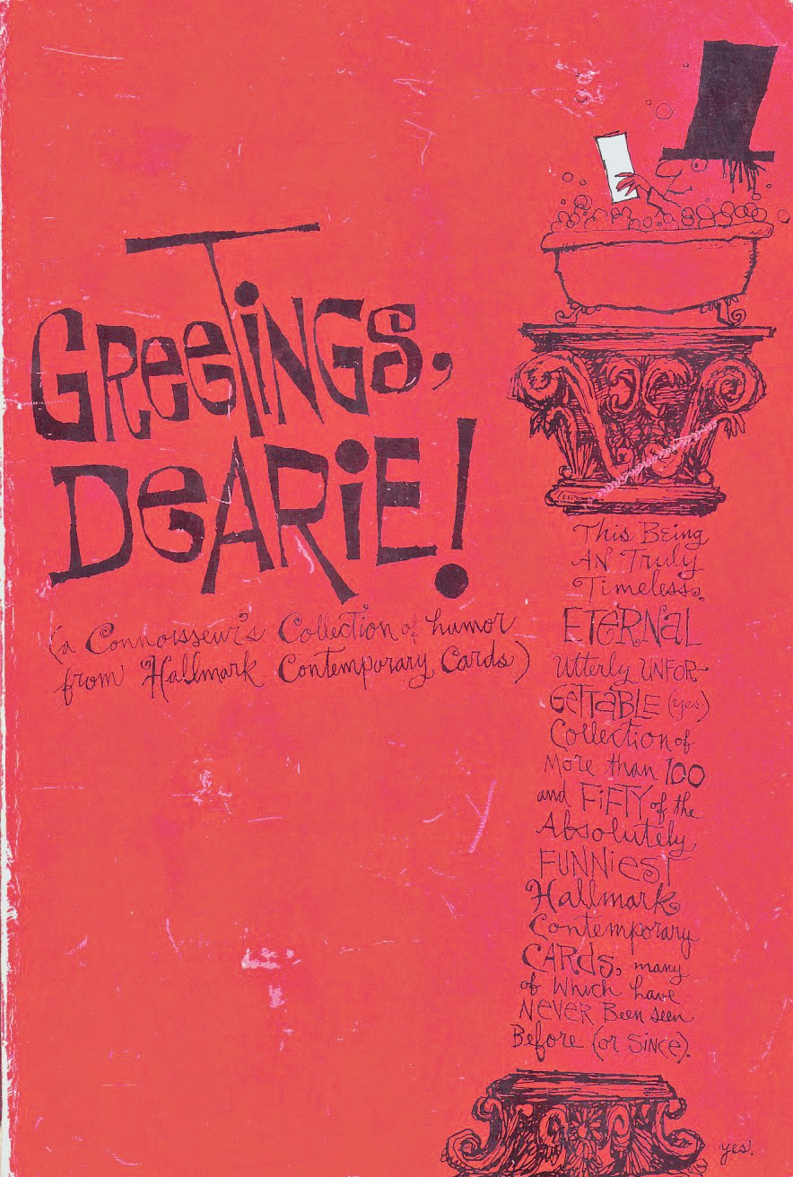 Mike lynch cartoons greetings dearie paul coker jr and greeting its a paperback collection hallmark cards produced and edited by hallmark and copyright that same year by hallmark m4hsunfo