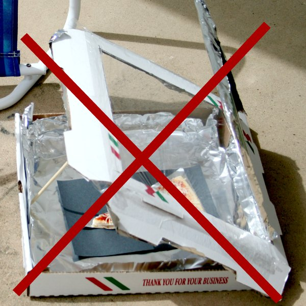 pizza box oven instructions