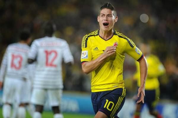 Monaco   Colombia   James Rodriguez