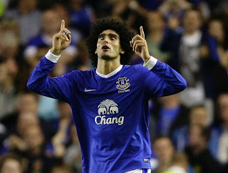 Marouane Fellaini Everton Arsenal
