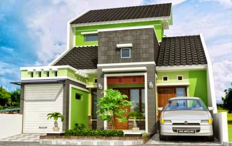 Model Rumah Minimalis 2 Lantai Terbaru Type 36 2014