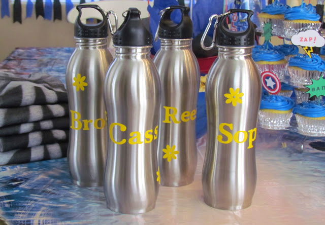Personalized Water Bottle Favors