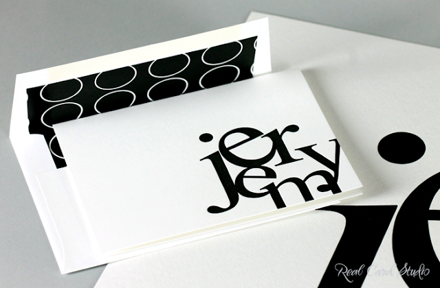Letterpress printing, typography, black and white