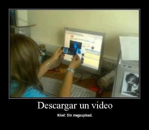 FAIL : Descargar un video
