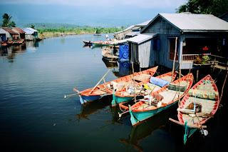 Fish village near Kampot, Cambodia Tours