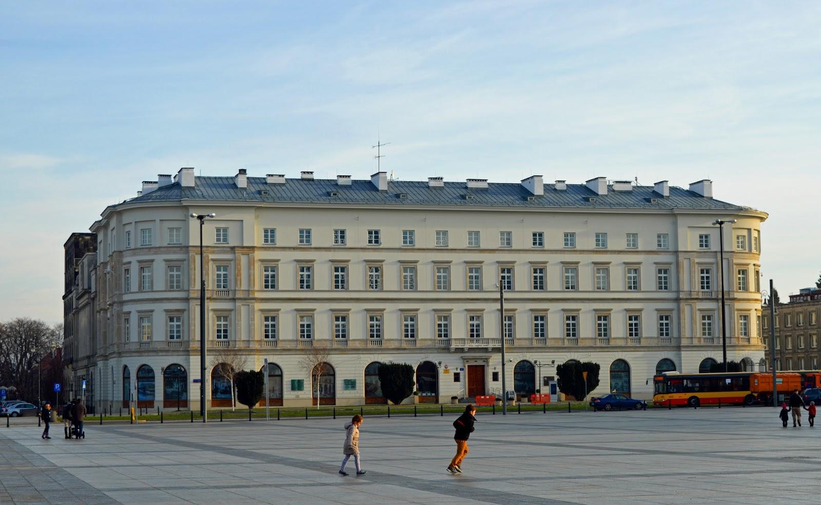 Warszawa Plac Piłsudskiego