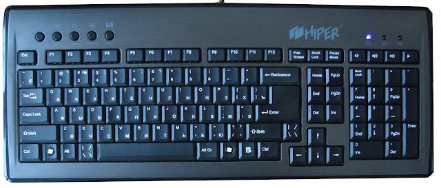 клавиатура стандартная фото
