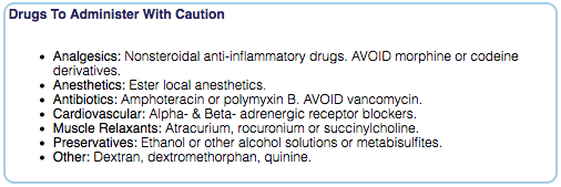 Drugs To Avoid With Mastocytosis