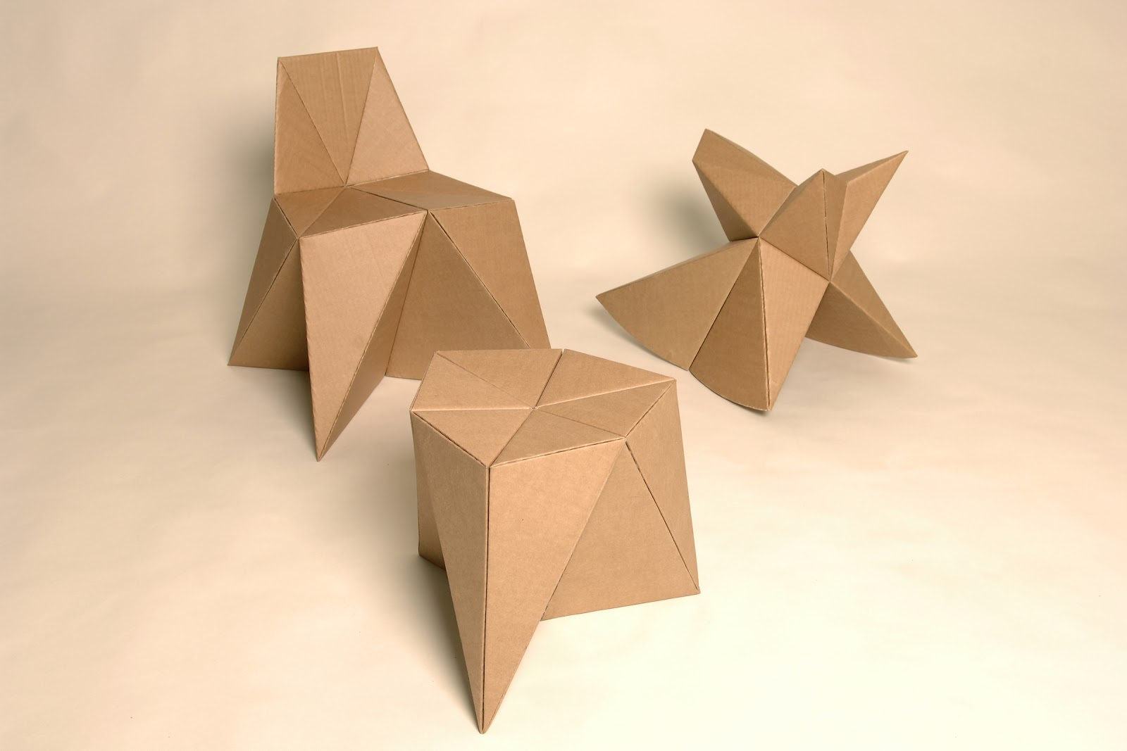 diy cardboard furniture. I Have Yet To Try Them Out, But Apparently The Folding Of Cardboard Makes It Very Solid And Can Carry Weight An Adult Without Problem. Diy Furniture