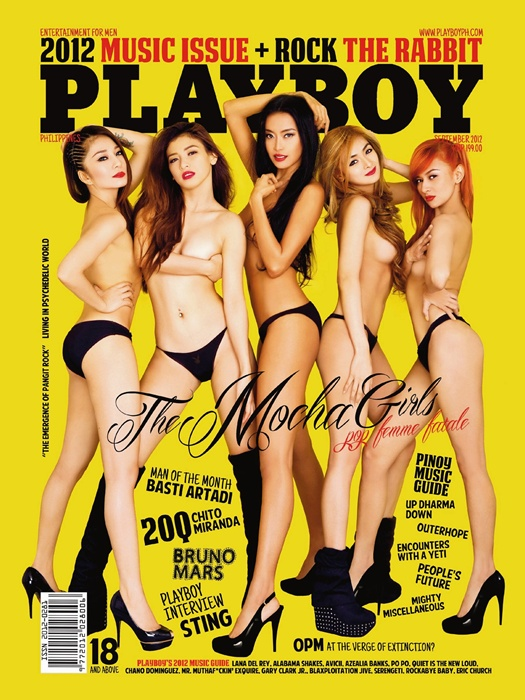... see her spread out in the pages of Playboy Philippines magazine soon