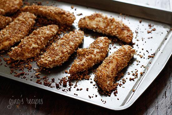 ... New Me!: Recipe Review :: SkinnyTaste Sesame Encrusted Chicken Tenders