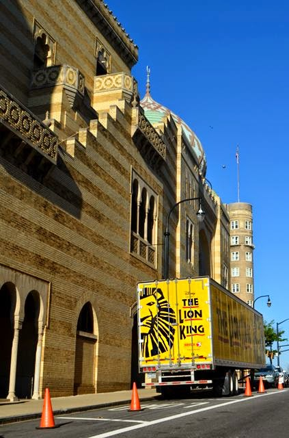 The Lion King at the Fox Theatre