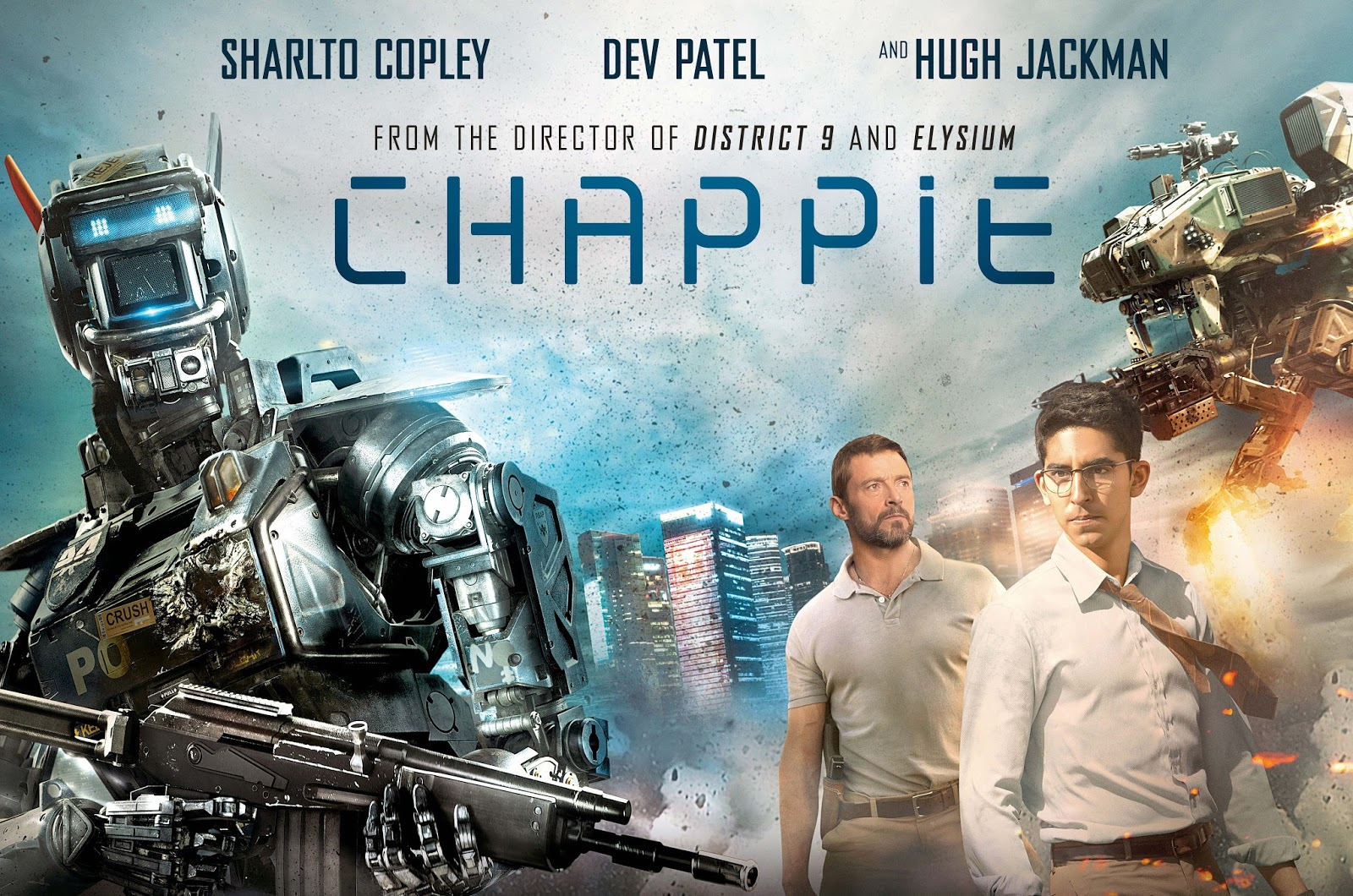 Chappie 2015 the snarky reviewer august 20 2015 reheart Choice Image
