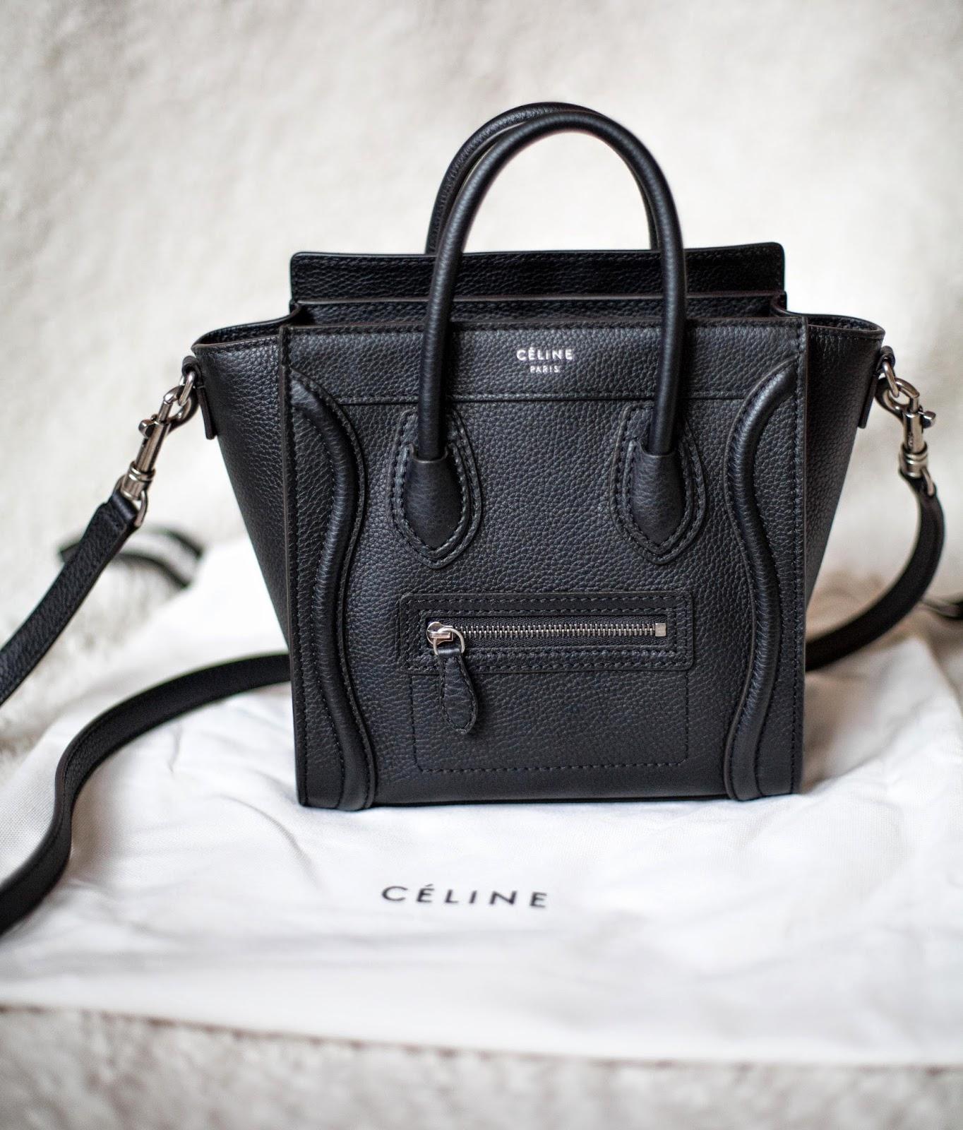 celine designer bag 8479  CELINE NANO