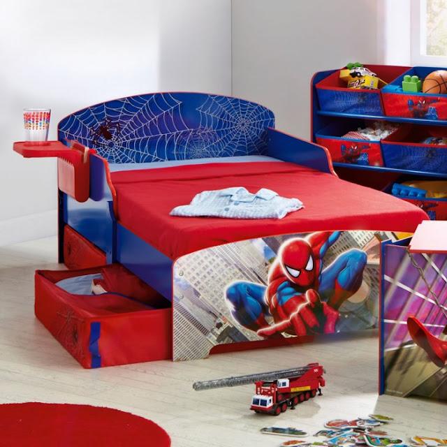 Kamar Tidur Anak Cowok Spiderman