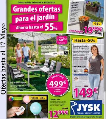 Catalogo JYSK Mayo 2015