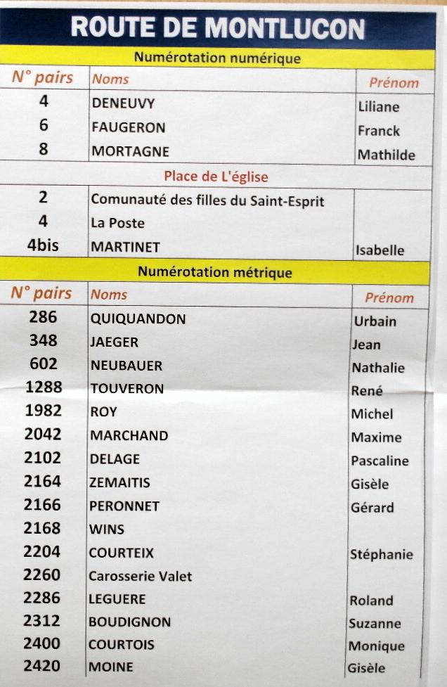 reunion unique Montluçon