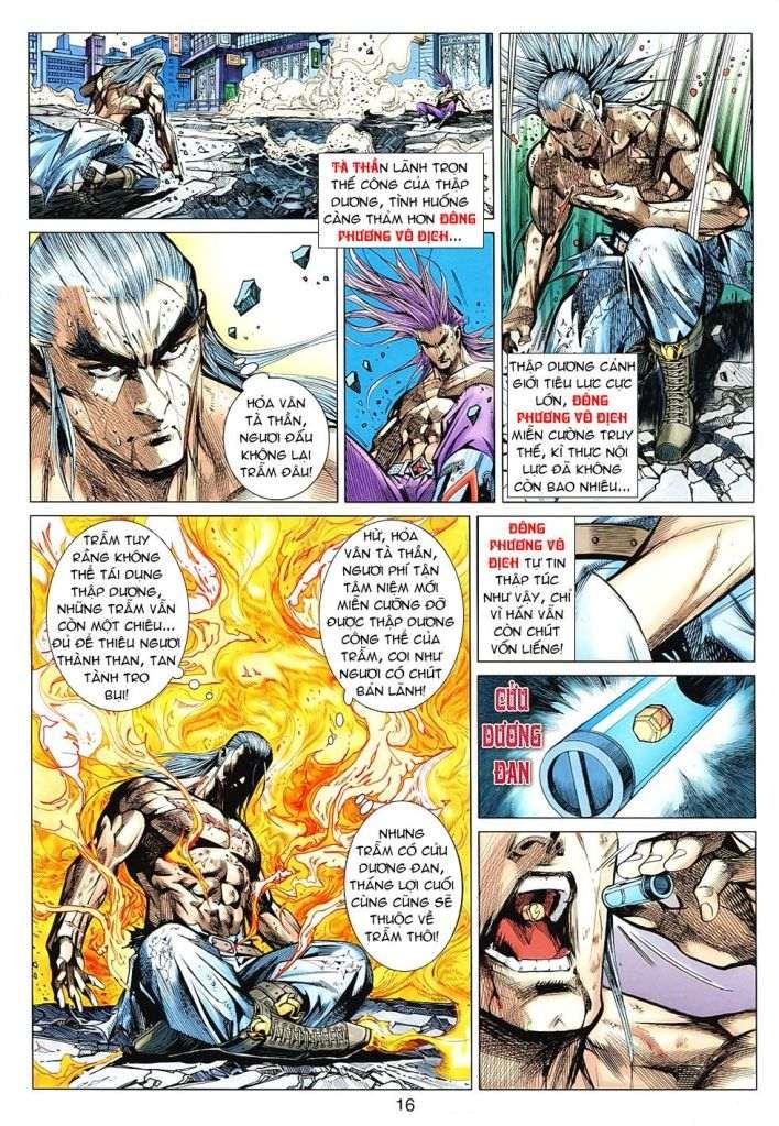 Hoả Vân Tà Thần II chap 99 - Trang 16