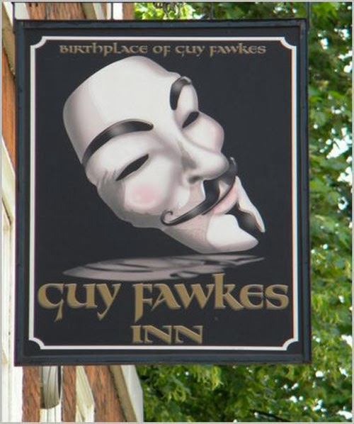 England, Guy Fawkes Inn