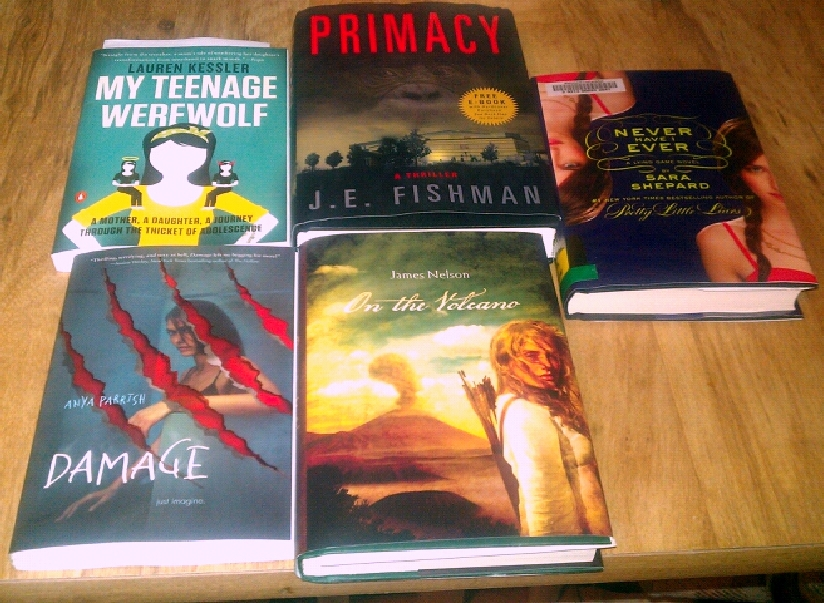 I can't wait to get started on this!) My Teenage Werewolf by Lauren Kessler ...