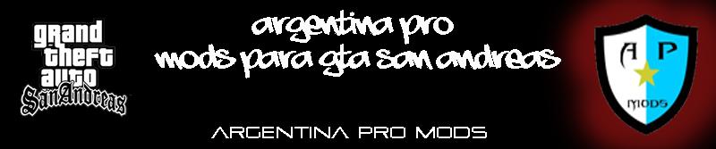 ARGENTINA PRO MODS GTA SAN ANDREAS