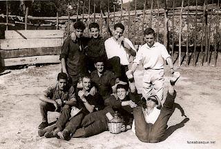 Candelario Salamanca, Mozos en la antigua plaza de Toros de Candelario