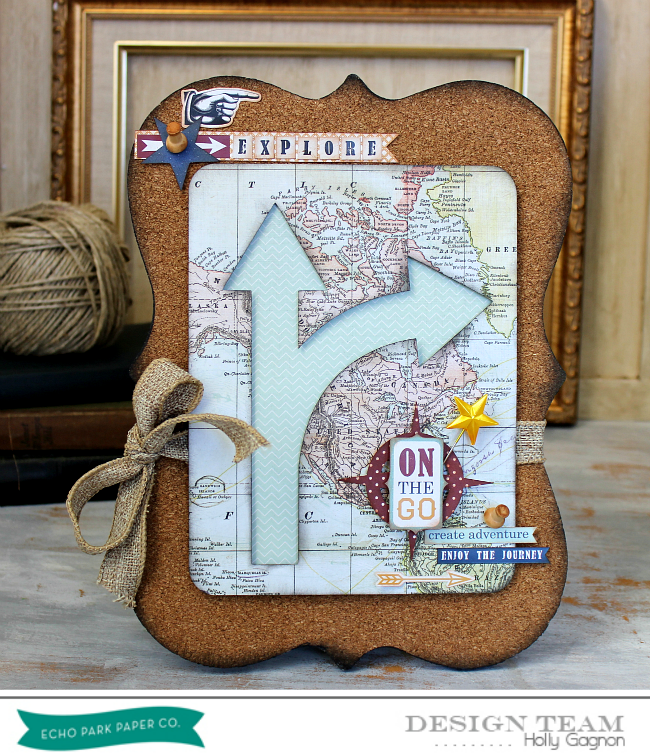 Cork Board Arrow Sign