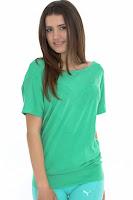 Tricou PUMA pentru femei STUDIO SECOND SKIN LOOSE TOP (PUMA)