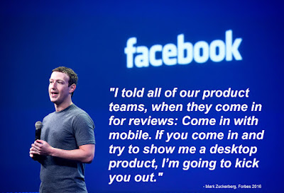Marc Zuckerberg Quote On Mobile First