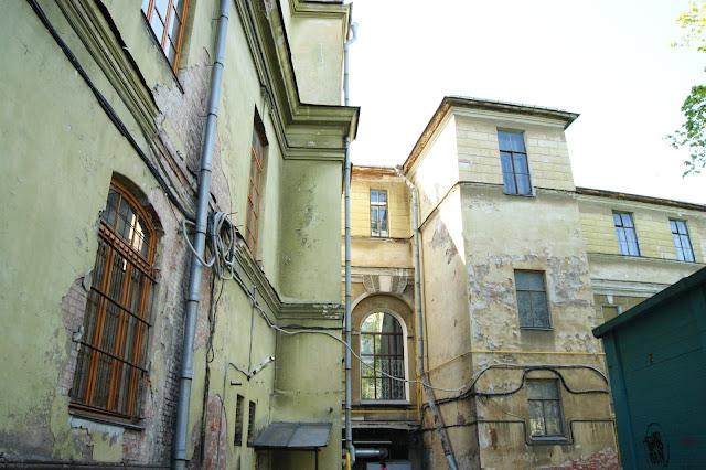 cortile interno San Pietroburgo
