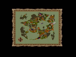 Dragon Quest maps are really only useful for determining where you haven't been yet.
