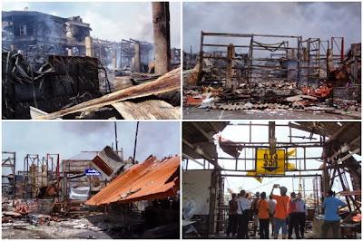 SuperCheap Store - Major fire in Phuket