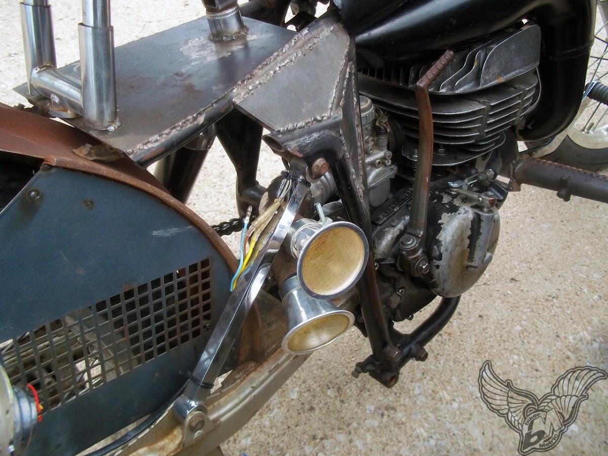 two stroke suzuki 125 ratbike motor | blue star motorcycles