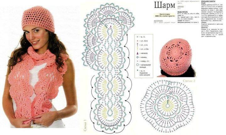 Bufandas a crochet con patrones gratis - Imagui