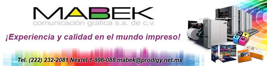 Mabek Comunicación Gráfica S.A. de C.V.