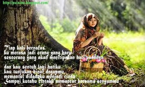 Puisi Gombal : Kusandarkan Cintaku Padanya _ Arjuna Linglung