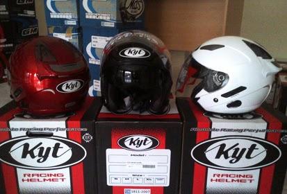 Rincian Harga Helm KYT Terbaru 2014 Untuk Semua Type