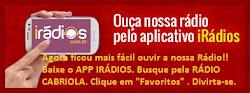 App para ouvir Rádio Cabriola