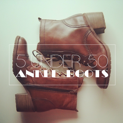 5 boots under $50