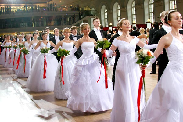 Платье к венскому балу