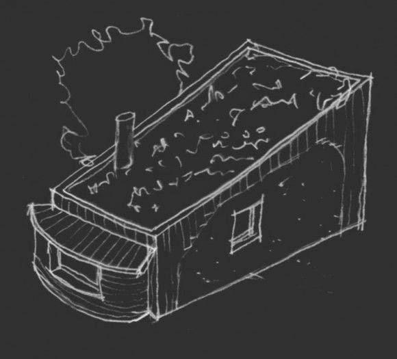 Bala-Box, Habitation avec des Blocs en Paille Compactée