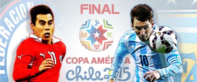 Prediksi Chile vs Argentina 5 Juli 2015, Final Copa America