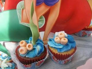 Cupcakes de la Sirenita, parte 3