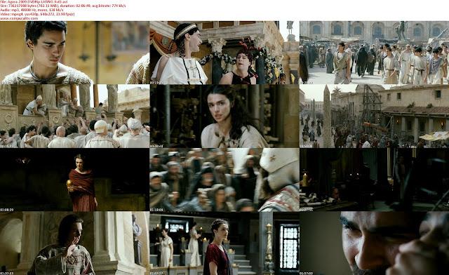 Agora.2009.DVDRip.LATiNO.XviD compucalitv Agora Español Latino BrRip 720p 1 Link