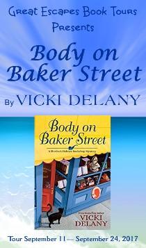 Vicki Delany: here 9/11/17